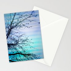 tree of wishes Stationery Cards