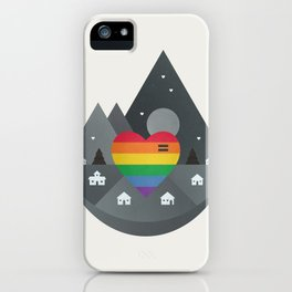 Love & Equality iPhone Case