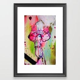 mushroom jazz Framed Art Print