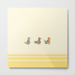 Easter Quack Metal Print