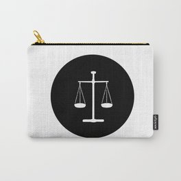 Scales of justice Carry-All Pouch