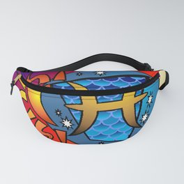 astrology,Pisces Fanny Pack