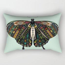 swallowtail butterfly mint Rectangular Pillow