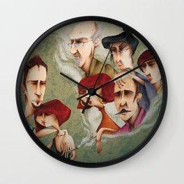 Mi Familia vs Mi Pareja Wall Clock