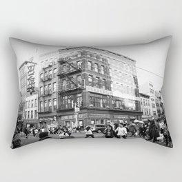 China Town (New York) Rectangular Pillow