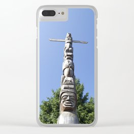 Stanley Park Clear iPhone Case