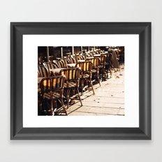 Cafe Light Framed Art Print
