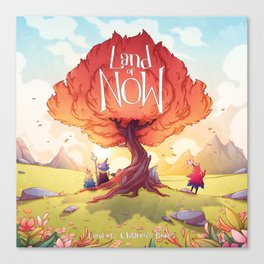 Land of NOW Canvas Print
