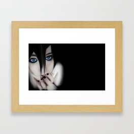 cheeky Framed Art Print