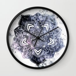 CANCER CONSTELLATION MANDALA Wall Clock