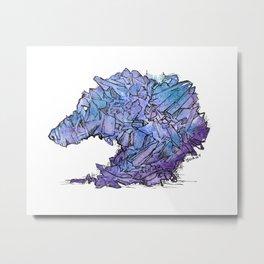 Crystalline Spirit Metal Print