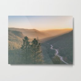 Santa Fe National Forest, New Mexico Metal Print