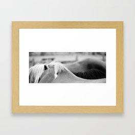 smal hills Framed Art Print