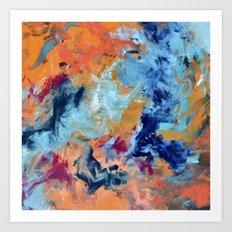 The Colour of Sound No. 1 Art Print