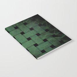 Green Weave Notebook