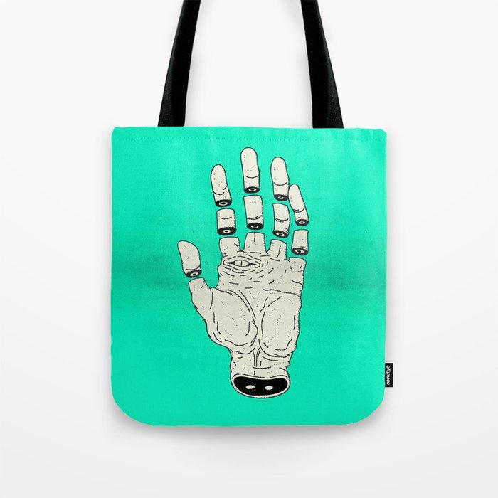 THE HAND OF DESTINY / LA MANO DEL DESTINO Tote Bag