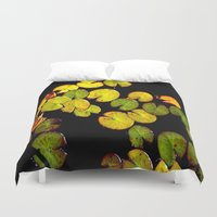 pacman Duvet Covers featuring Pacman by Chris' Landscape Images & Designs