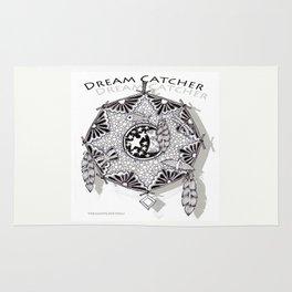 Zentangle Dreamcatcher Rug