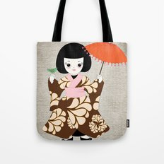 Madame Butterfly Tote Bag