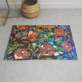 Exotic Floral Rug