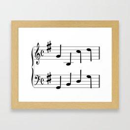 Music Chord Framed Art Print