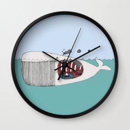 I valfiskens mage Wall Clock