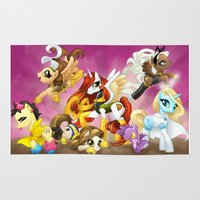 mlp Area & Throw Rugs featuring MLP X-Women by Kimball Gray