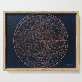 Constellations of the Northern Hemisphere Serving Tray