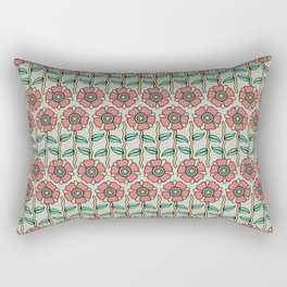 W/LDFLOWER Rectangular Pillow