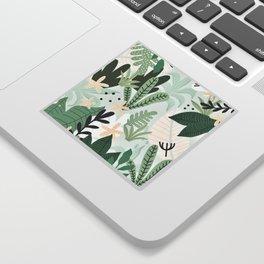 Into the jungle II Sticker