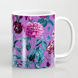 Romantic Floral Pattern Coffee Mug