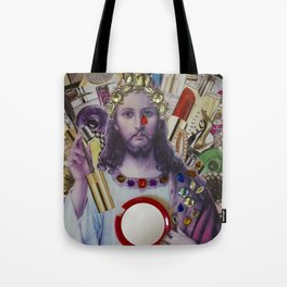 Jesus loves Vain Tote Bag