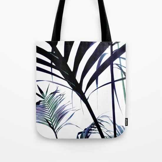 Palms Silhouettes Tote Bag