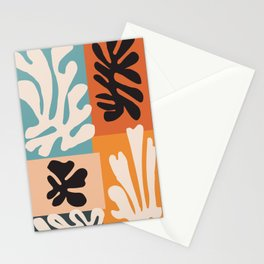 Bohemian Floral Art Print on Canvas, Modern, Contemporary, Pop Art, Large Wall Art, Floral Blooming Stationery Cards