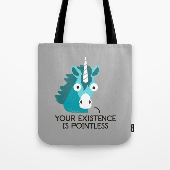 Neigh Sayer Tote Bag