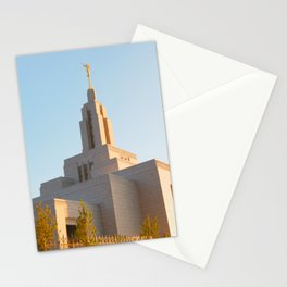 LDS Draper Utah Temple Stationery Cards