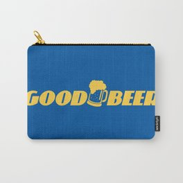 GOOD BEER Carry-All Pouch