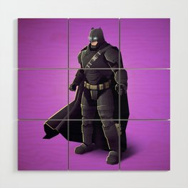 Darkn Knight Wood Wall Art