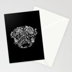 Botanical Garden Pug Stationery Cards