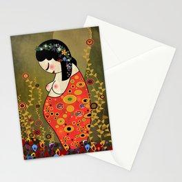 Kokeshi Hope of Klimt Stationery Cards