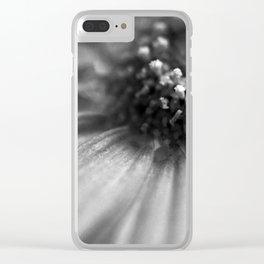 Macro flower Clear iPhone Case