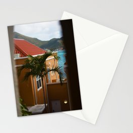 Palm Tree in the Breeze - Sint Maarten Stationery Cards