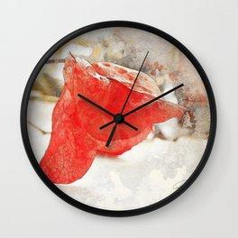 LAST KISS Wall Clock