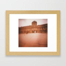 Wavy Louvre 2 Framed Art Print