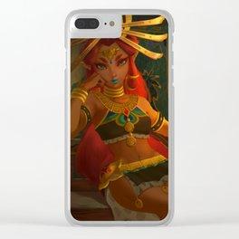 Riju Breath of the wild Clear iPhone Case