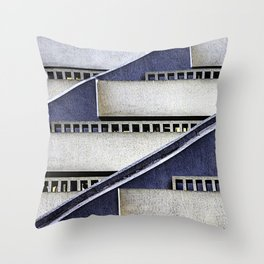 High Rise Abstract Throw Pillow