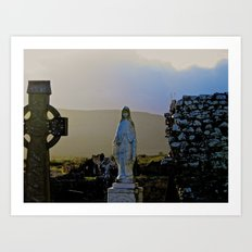 Corcomeroe Abbey, County Clare Ireland Art Print