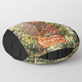 Big Rock Candy Mountain Floor Pillow