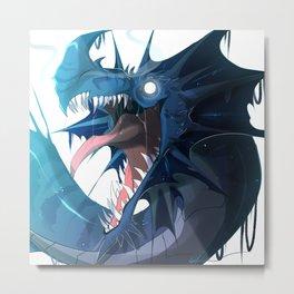 Ice Dragon Metal Print