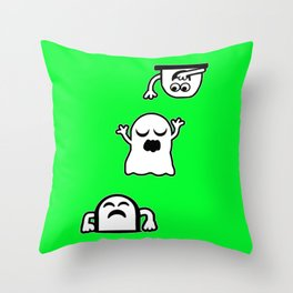 Peek-A-Boos Throw Pillow